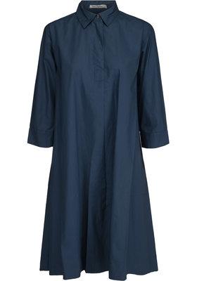 Two Danes jurk Edina blauw