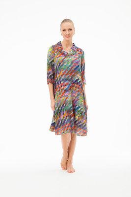 Aino jurk Veronica multicolor
