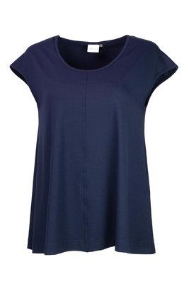 Aino Shirt Lulu navy blauw
