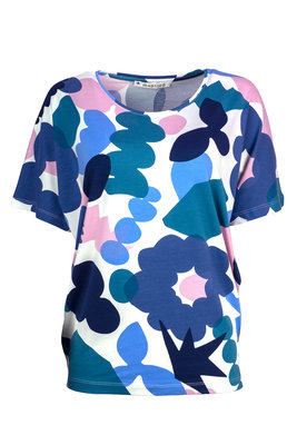 Mansted kleding Mindy shirt blauw turkoois