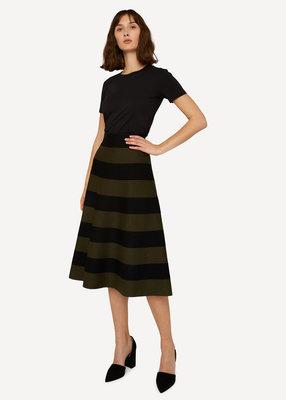 Oleana rok Skirt 507P Green ink