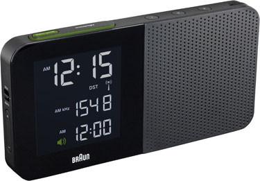 Braun digital clocks – BNC010BK-SRC zwart wekkerradio