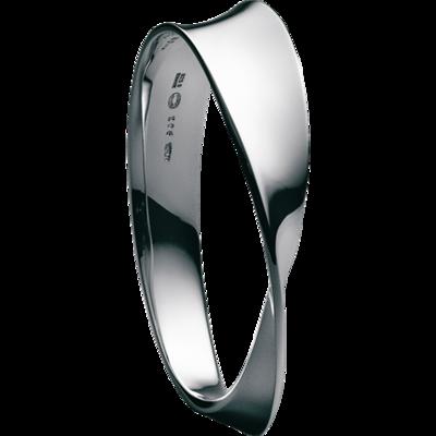 Möbius sterling silver armband