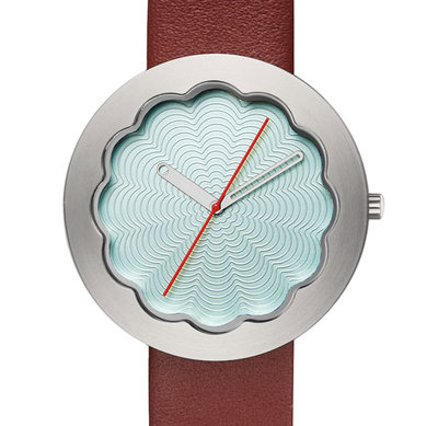 Project Watches Scallop Celadon 6603CE