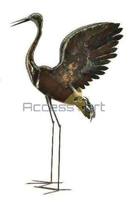 Europese kraanvogel vleugels hoog BECWU