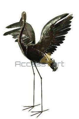 Europese kraanvogel 1 vleugel hoog BECOWU