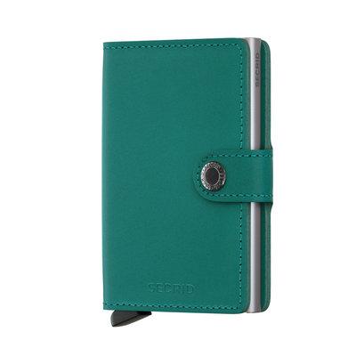 Secrid Miniwallet M Original Emerald portemonnee