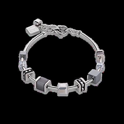 Coeur de Lion Armband 4893/ /1200 Crystal Pavé Grey