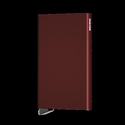 Secrid Cardprotector C Bordeaux portemonnee
