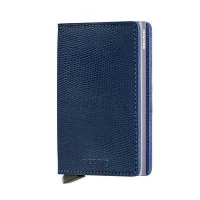 Secrid Slimwallet S Rango Blue Titanium portemonnee