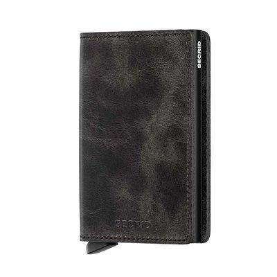 Secrid Slimwallet S Vintage Black portemonnee