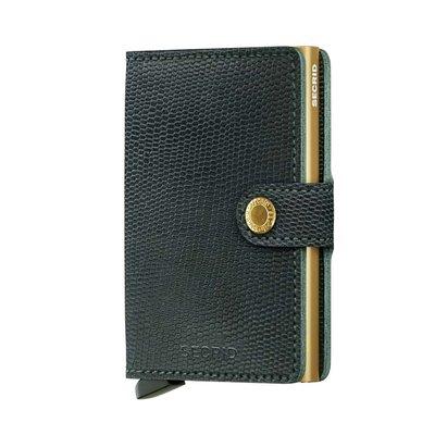 Secrid Miniwallet M Rango Green Gold portemonnee