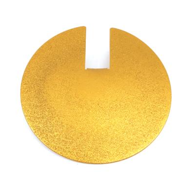 Otracosa hanger rond geel K209