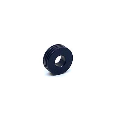 Otracosa kraal  rond blauw K4 1,5 cm