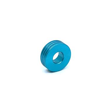 Otracosa kraal rond lichtblauw K4 1,5 cm