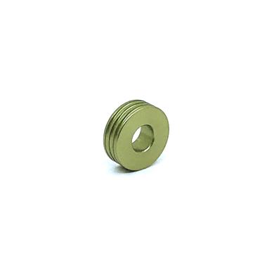 Otracosa kraal  rond lichtgroen K4 1,5 cm