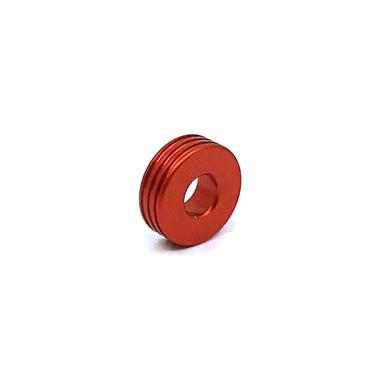 Otracosa kraal  rond rood K4 1,5 cm