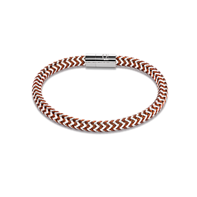 Coeur de Lion Armband 0116/ /1117 Brown-Silver