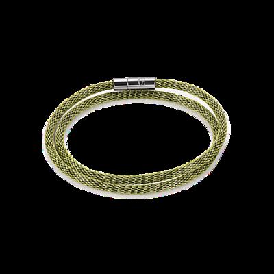 Coeur de Lion Armband 0111/ /0500 Enamelled Green