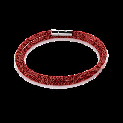 Coeur de Lion Armband 0111/ /0300 Enamelled Red