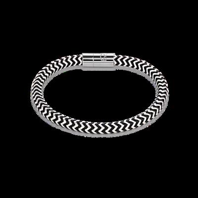 Coeur de Lion Armband 0116/ /1713 Silver-Black