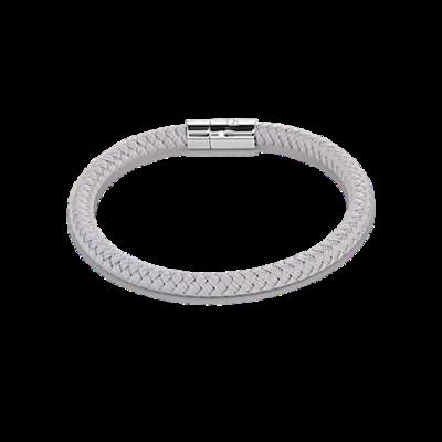 Coeur de Lion Armband 0115/ /1220 Braided Light Grey