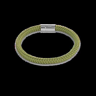 Coeur de Lion Armband 0115/ /0500 Braided Green