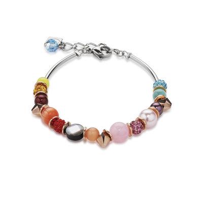 Coeur de Lion Armband 4864/ /1520 Multicolor Rainbow