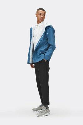 Rains Regenjas Long Jacket unisex faded blue 1201-42
