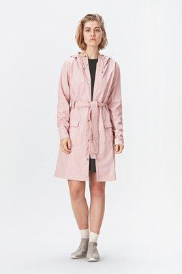Regenjas Rains rainwear model Curve Jacket woman kleur rose