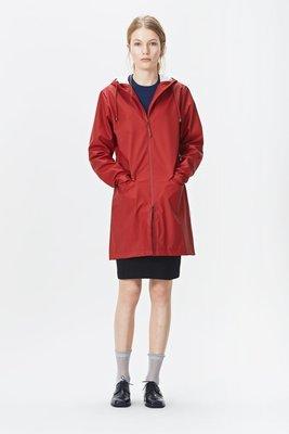 Rains Regenjas W Coat Jacket rood 1246-20