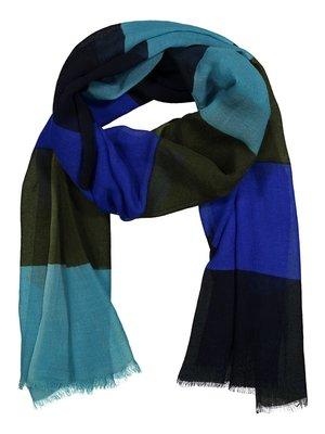 Nanso Raita Sjaal 24936-2326 blauw/groen