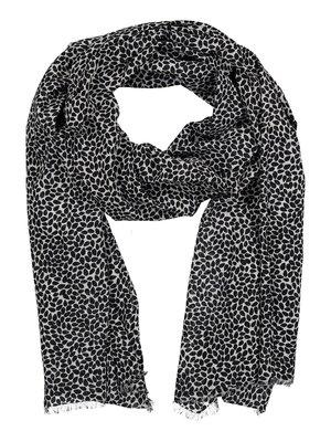 Nanso Sesam Sjaal 25066-1210 zwart