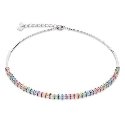 Coeur de Lion Ketting 4858/ /1518 Multicolor Crystal