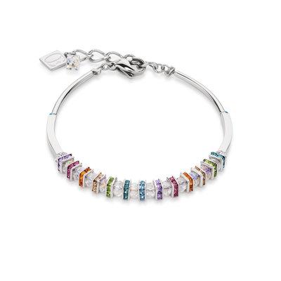 Coeur de Lion Armband 4858/ /1518 Multicolor Crystal