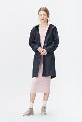 Rains Regenjas Long Jacket unisex blue 1202-02
