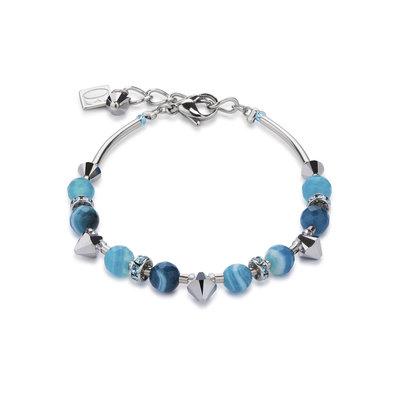 Coeur de Lion Armband 4894/ /0600 Turquoise