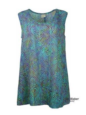 Unikat Artwear kleding top violett