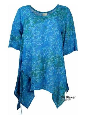 Unikat Artwear kleding shirt aqua