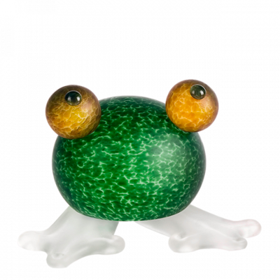 Glasstudio Borowski Frosch Green