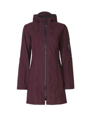 Ilse Jacobsen Rain Coat 37B-524660 Bordeaux Red