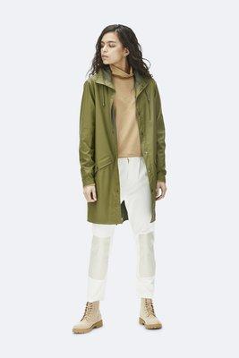 Rains Regenjas Long Jacket unisex sage 1202-78