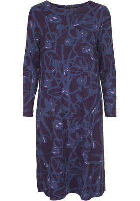 Two Danes Ceylan Dress Dark Purple/Iris Blue 93627-P948/968