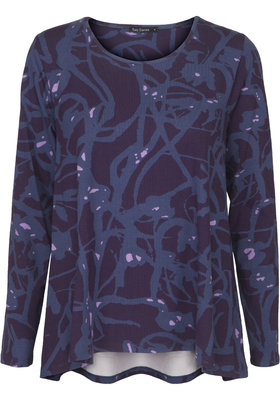 Two Danes Birka T-shirt Dark Purple/Iris Blue/Lilac 95552-P948