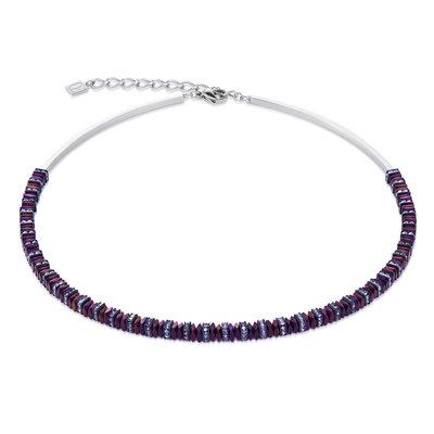 Coeur de Lion Ketting 4777/ /0800 Purple