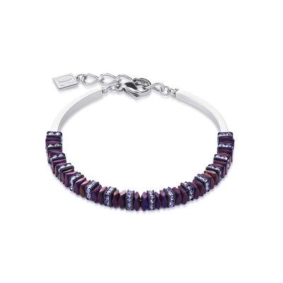 Coeur de Lion Armband 4777/ /0800 Purple
