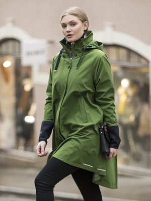 Blaest regenjas model Firenze groen