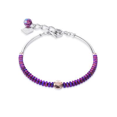 Coeur de Lion Armband 4931/ /0800 Purple