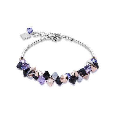 Coeur de Lion Armband 4938/ /0800 Purple