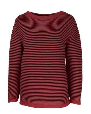 EO-design Trui rood zwart